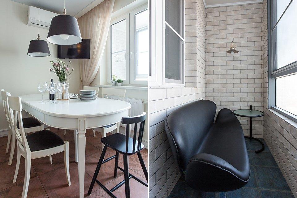 Большая квартира для семьи на«Нагатинской» с кабинетом илимонной ванной. Изображение № 32.