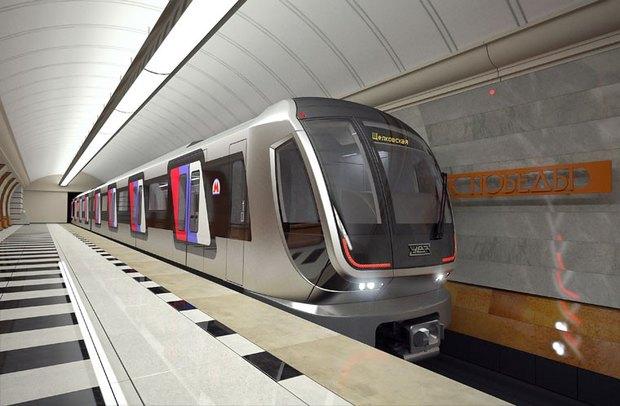 «Уралвагонзавод» показал новые поезда московского метро и трамваи. Изображение № 2.