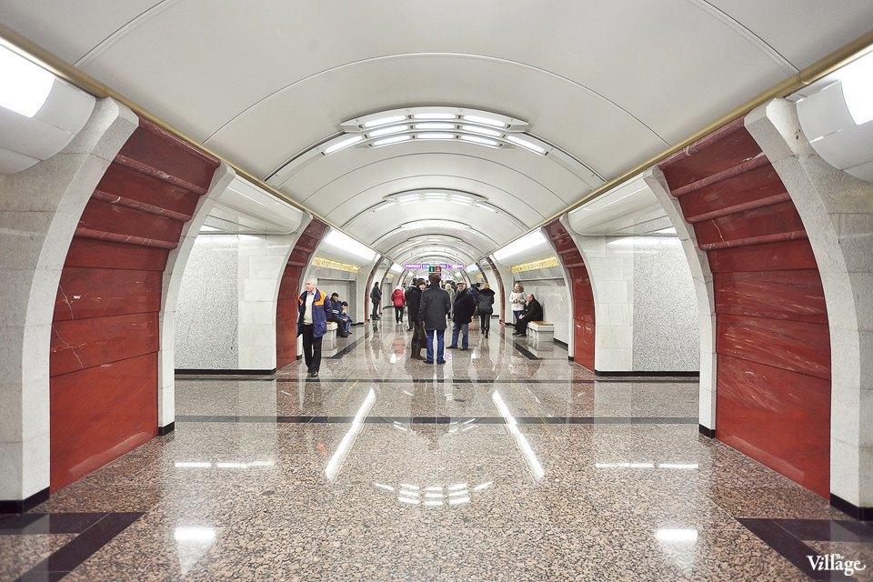 Фоторепортаж: Станции метро «Международная» и«Бухарестская» изнутри. Изображение № 8.