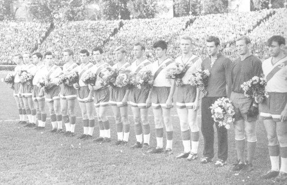 Киевское «Динамо» на стадионе, 1960 год. Изображение № 3.