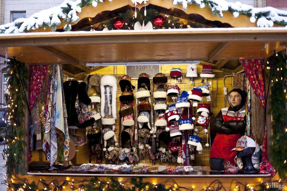 Фоторепортаж: Новогодние ярмарки в центре Москвы. Изображение № 6.
