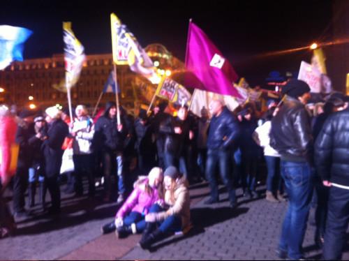 Онлайн-трансляция: Митинги в Москве и Петербурге. Изображение № 18.