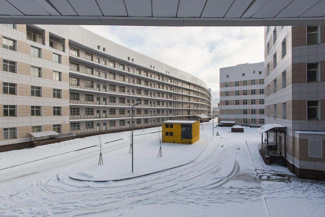 Как выглядит самая большая вРоссии инфекционная больница . Изображение № 9.