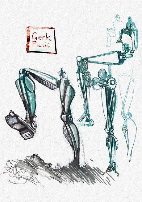 Клуб рисовальщиков: Geek Picnic. Изображение № 8.