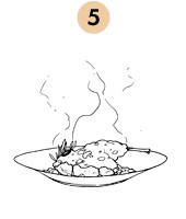 Рецепты шефов: Ножка кролика, тушеная с грибами. Изображение № 11.
