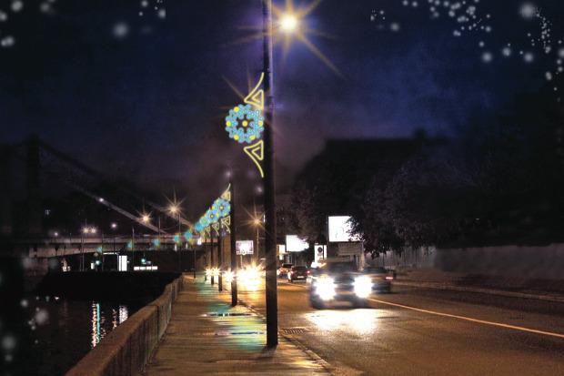 Великие луки: Как украсят Москву к Новому году. Изображение № 73.