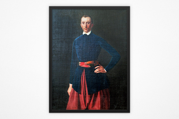 Василий Серебряков, портрет Григория Галагана, 1843 год. Изображение № 1.