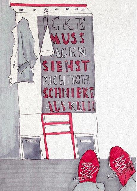 Мастер-класс городского наброска в Берлине. Изображение № 14.