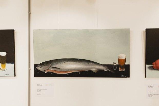 Художник Антон Тотибадзе: «Эта шаурма шикарная, мне нравится её форма — она как женщина». Изображение № 19.