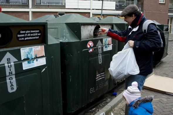 Во «Внуково» установили контейнеры для раздельного сбора мусора. Изображение № 14.