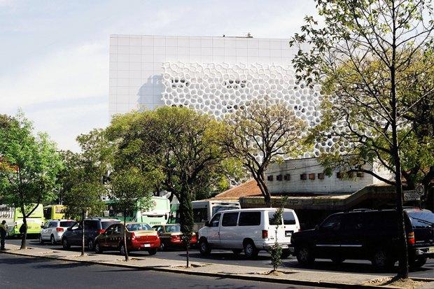 Иностранный опыт: Как фасад здания очищает воздух в Мехико. Изображение № 4.