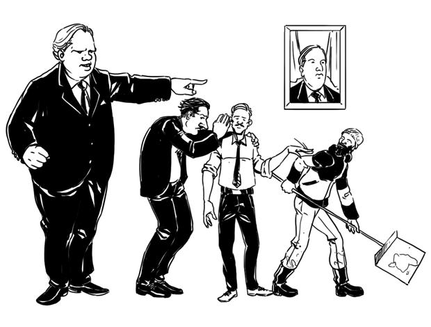 Как всё устроено: Работа чиновника. Изображение № 2.