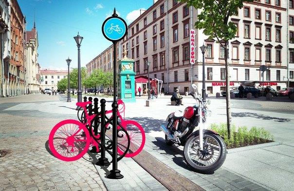 Горожане предложили эскиз велопарковки для исторического центра. Изображение № 2.