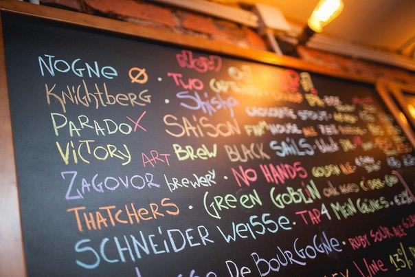 В Сапёрном переулке открылся бар скрафтовым пивом TopHops . Изображение № 3.