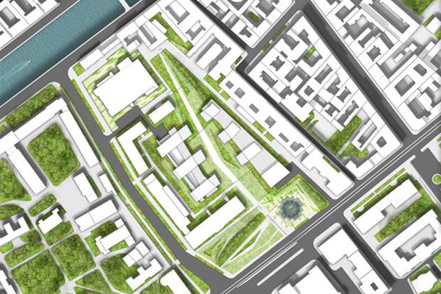 10 проектов квартала около Витебского вокзала . Изображение №12.