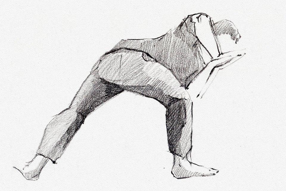 Клуб рисовальщиков: Йога. Изображение №12.
