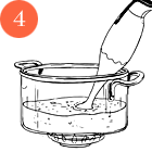 Рецепты шефов: Кукурузный суп на кокосовом молоке скреветками. Изображение №6.