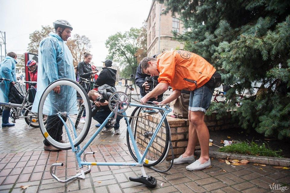 Люди в городе: участники велопарада впижамах. Изображение № 2.