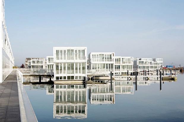 Идеи для города: Плавучие дома вАмстердаме. Изображение №4.