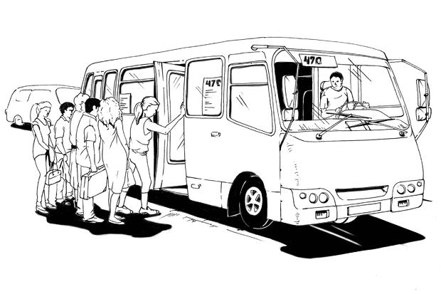 Как все устроено: Водитель маршрутки. Изображение № 1.