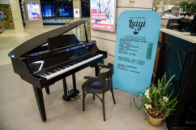 В «Заневском каскаде» открылось кафе Luigi Coffee. Изображение № 2.
