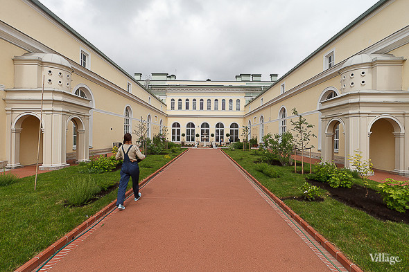 Фоторепортаж: Висячий сад Эрмитажа после реставрации. Изображение № 11.