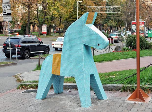 На Трухановом острове появится памятник шведским болельщикам. Зображення № 1.