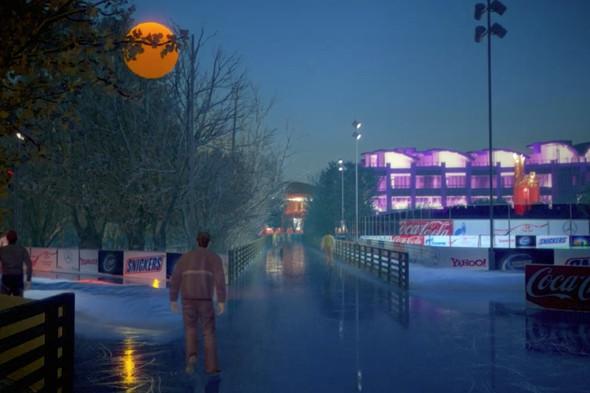 В парке Горького начали строить самый большой каток в Москве. Изображение № 14.