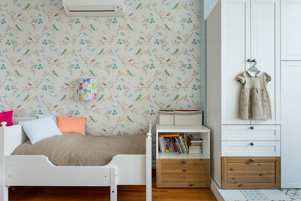 Большая квартира для семьи на«Нагатинской» с кабинетом илимонной ванной. Изображение № 14.