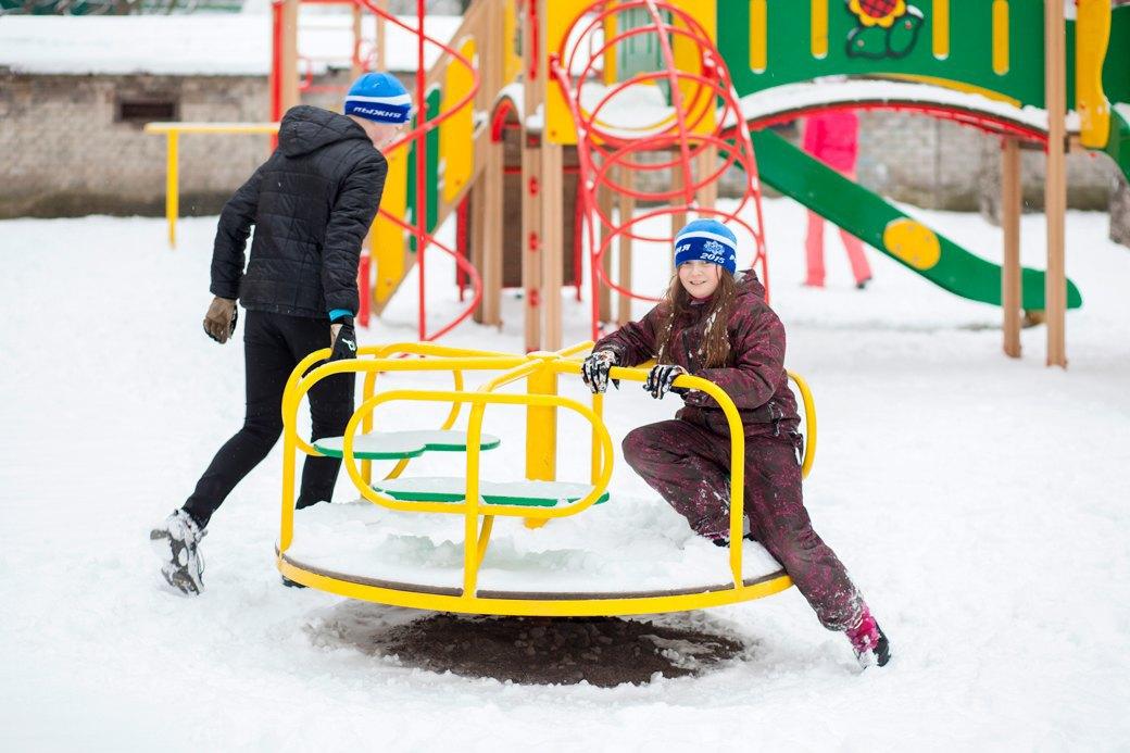 Детская площадка в «Городке». Изображение № 13.
