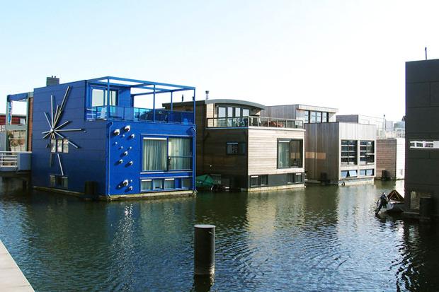 Идеи для города: Плавучие дома вАмстердаме. Изображение № 6.
