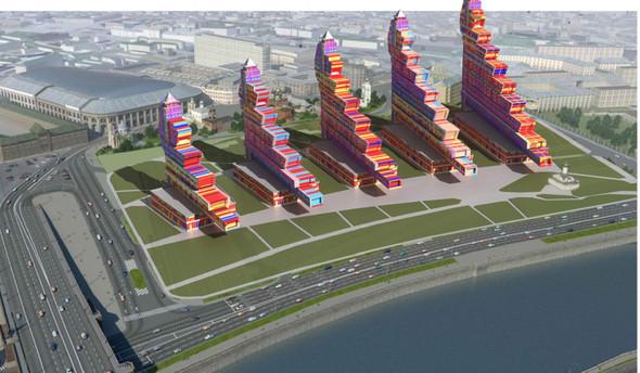 Москомархитектура выбрала 118 проектов парка в Зарядье. Изображение № 8.