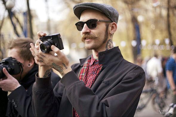 С твидом на город: Участники первого «Ретрокруиза»— о своей одежде и велосипедах. Изображение № 13.