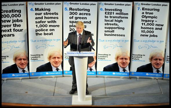 Клуб мэров: Борис Джонсон, Лондон. Изображение № 18.