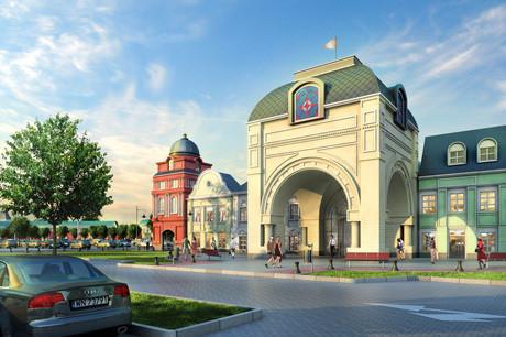 Изображение 2. На Ленинградском шоссе появится крупный аутлет-центр.. Изображение № 4.