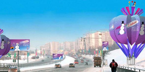 Стали известны детали оформления города к Новому году. Изображение № 3.