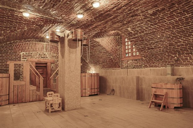 На «Красном Октябре» открыли баню. Изображение № 1.