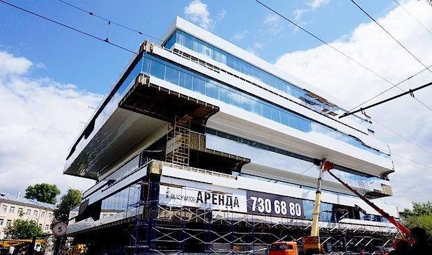 Первое в Москве здание попроекту Захи Хадид сдадут вэксплуатацию всентябре. Изображение № 1.