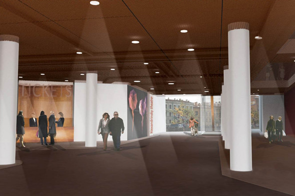 Экспериментальная сцена Александринского театра откроется весной 2013 года. Изображение № 4.