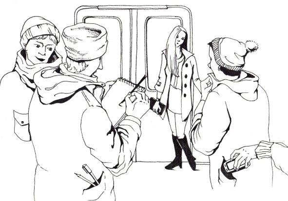 Как всё устроено: Торговля впоездах метро. Изображение № 2.