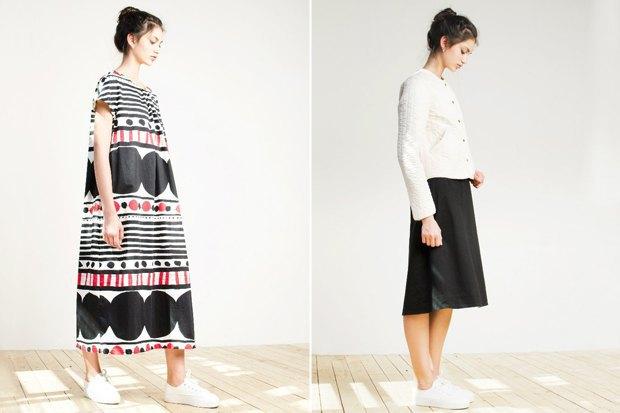 Платье, 4 500 рубей; жакет, 2 800 рублей. Изображение № 4.