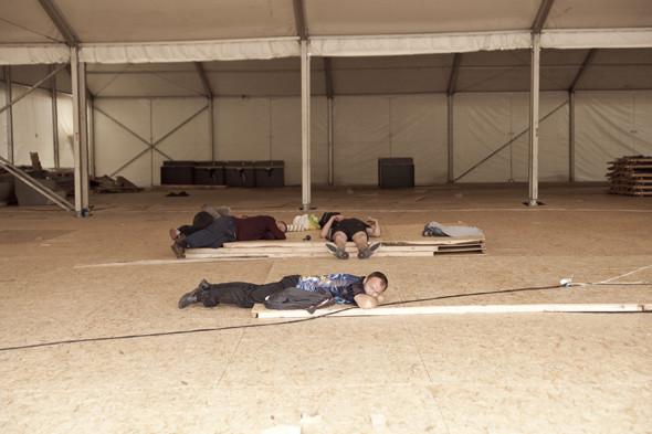 Camp Sweden: Шведские болельщики в кемпинге на Трухановом острове. Зображення № 9.