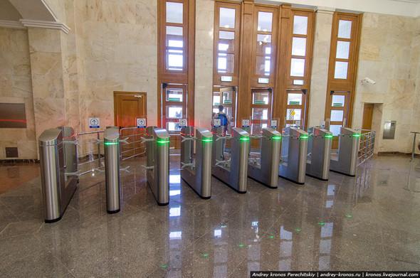 Станция «Парк Культуры» открылась для пассажиров. Изображение № 3.