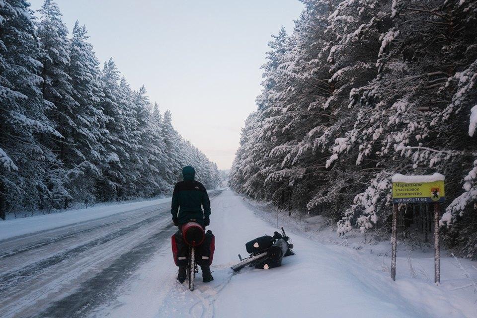 Как изачем ехать взимнее велопутешествие. Изображение № 3.