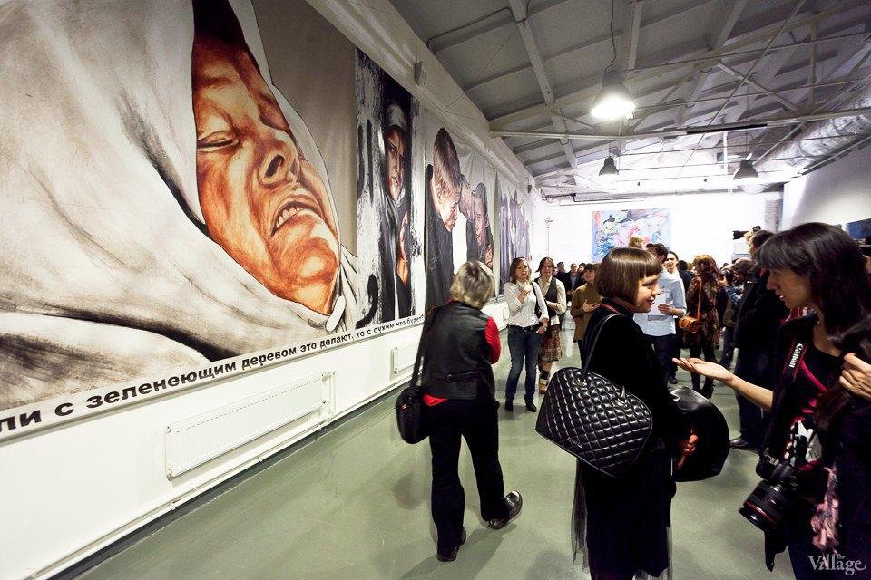 Люди в городе: Первые посетители выставки Icons в Петербурге. Изображение № 19.