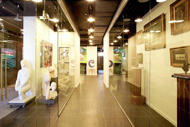 На Саввинской набережной открывается художественный центр. Изображение № 4.