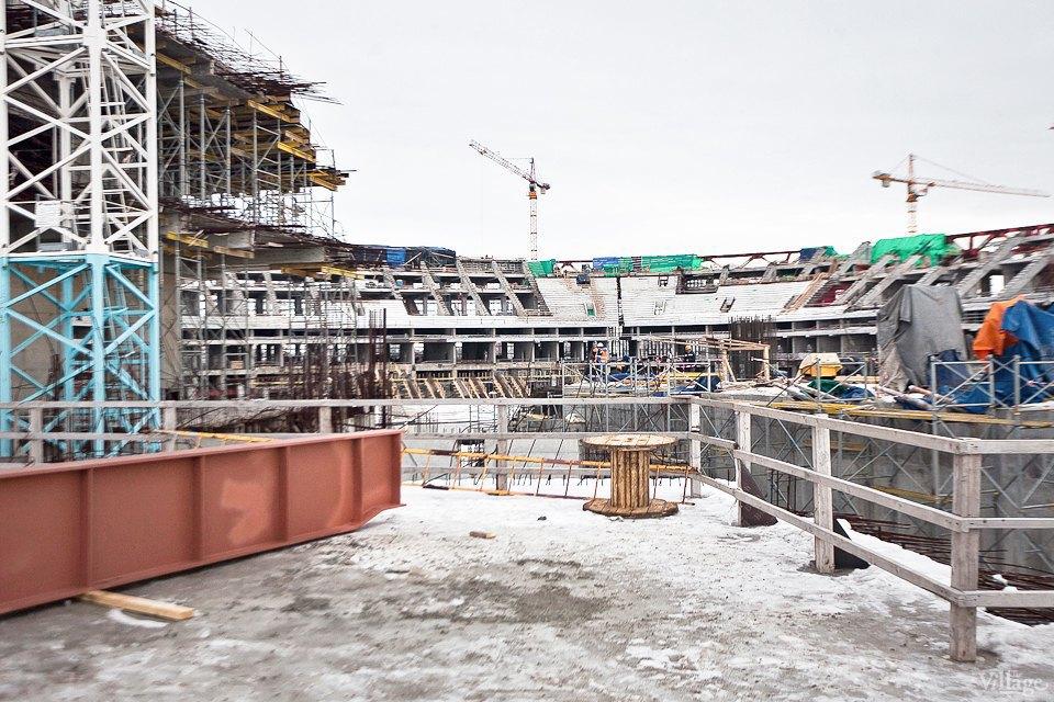 Фоторепортаж: Стадион «Зенит-Арена» изнутри. Изображение № 12.