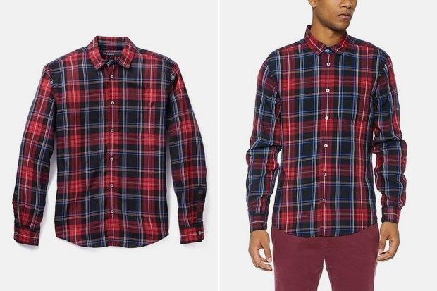 Где купить мужскую рубашку вклетку: 9вариантов отодной досеми тысяч рублей. Изображение № 6.