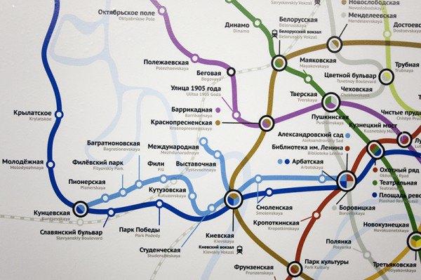 Активисты разместили в метро партизанскую карту. Изображение №4.