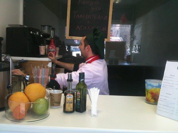 На Сенной открылся киоск с итальянской едой навынос . Изображение № 2.